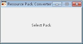 Resource Pack Converter(材质包转换工具)