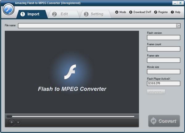 网上买彩票赚钱可靠吗,Amazing Flash to MPEG Converter(Flash转视频工具)