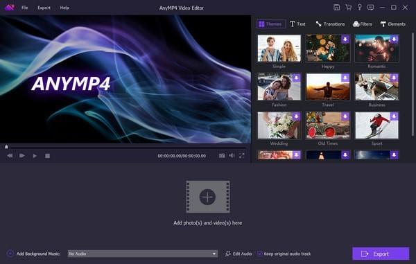 AnyMP4 Video Editor(视频编辑软件)