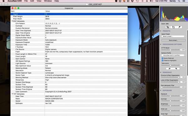 AccuRaw EXR Mac版