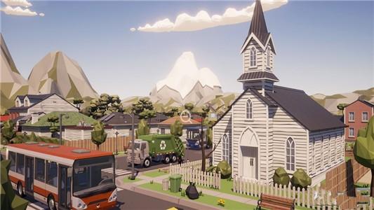 极光模拟小镇
