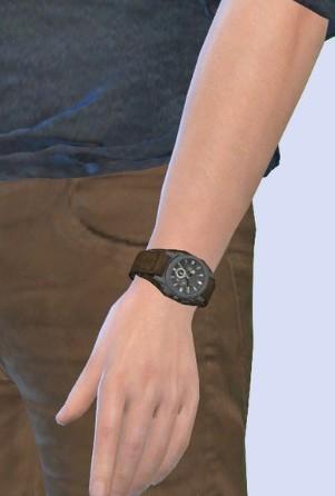 模拟人生4古朴的男性手表mod