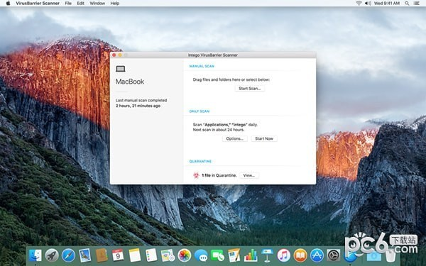 VirusBarrier Scanner for Mac