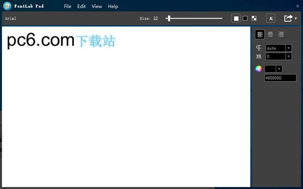 FontLab Pad(彩色字�w生成器)