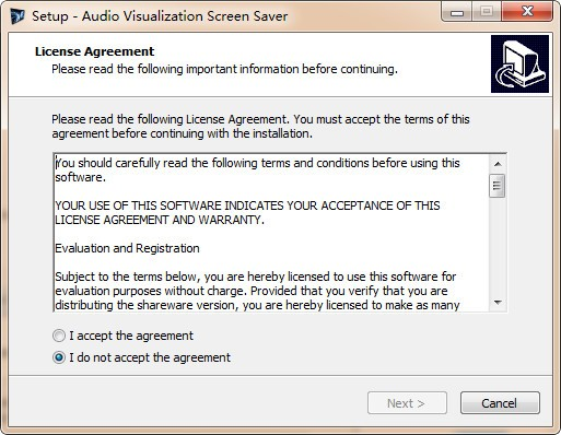 Audio Visualisation Screen Saver(屏幕保護軟件)下載 v1.0.5.23官方版