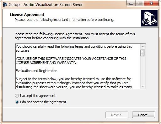 Audio Visualisation Screen Saver(屏幕保护软件)