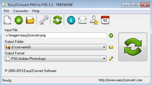Easy2Convert PNG to PSD(PNG转PSD转换工具)