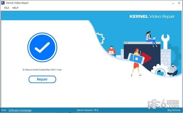 Kernel Video Repair(视频修复软件)