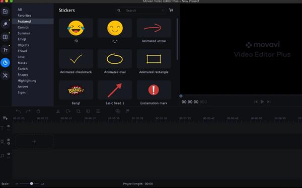 Movavi Video Editor Plus 2020 Mac版