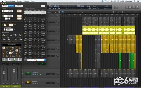 ToneCalculator for Mac