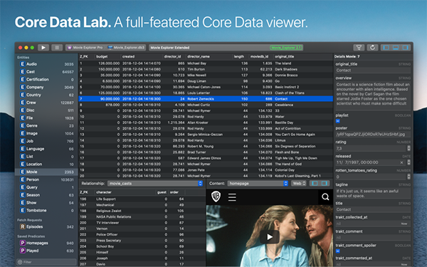 Core Data Lab Mac版