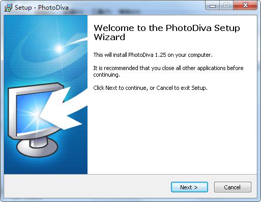 PhotoDiva PhotoDiva 艺术照编辑软件 下载 v1.25免费版