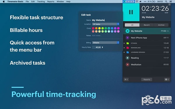 Timemator Basic Mac版