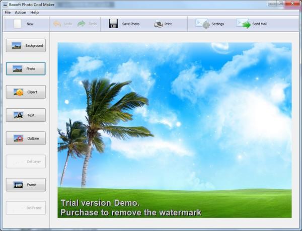 Boxoft Photo Cool Maker(照片美化软件)